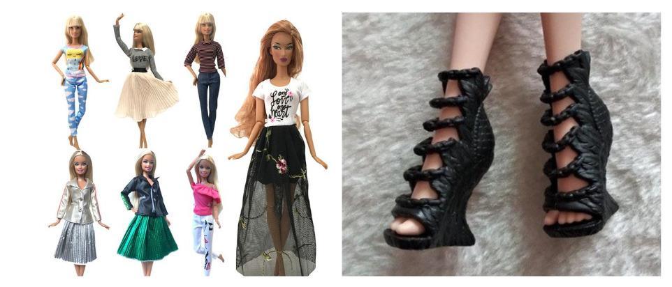 Лучшие товары для кукол с Алиэкспресс